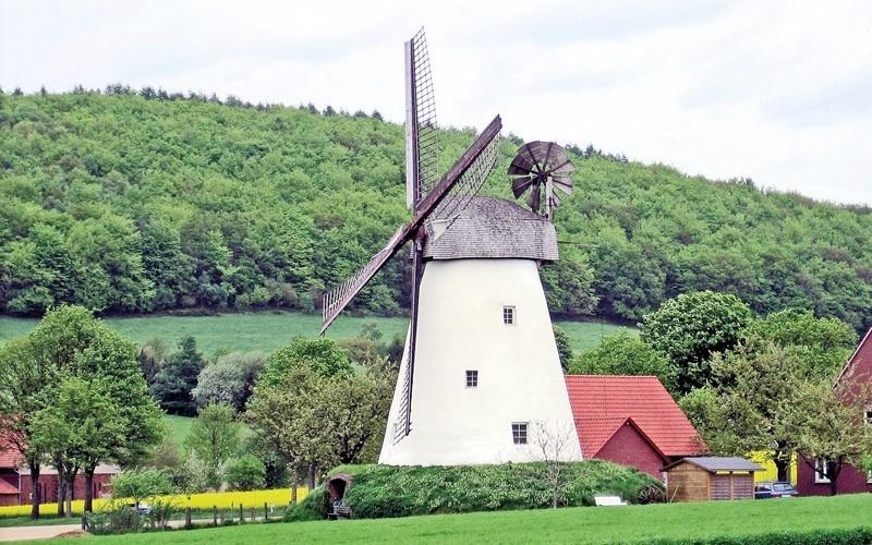 Mühle von der Familie Kröger im Struckhof