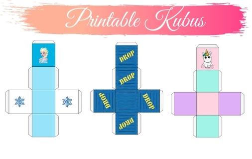 Printable kubus