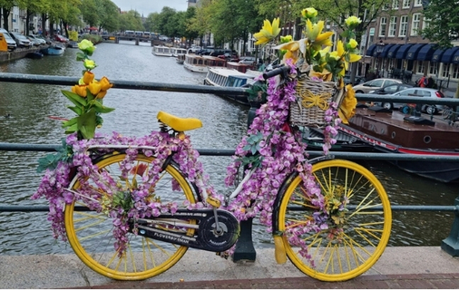 World Cleanup Day op de blogboot Amsterdam