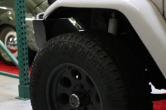 Toyota-FJ40-White-in-the-garage