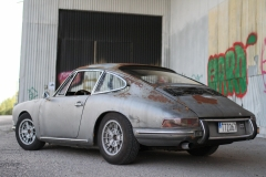 Porsche-912-rear-left-patina