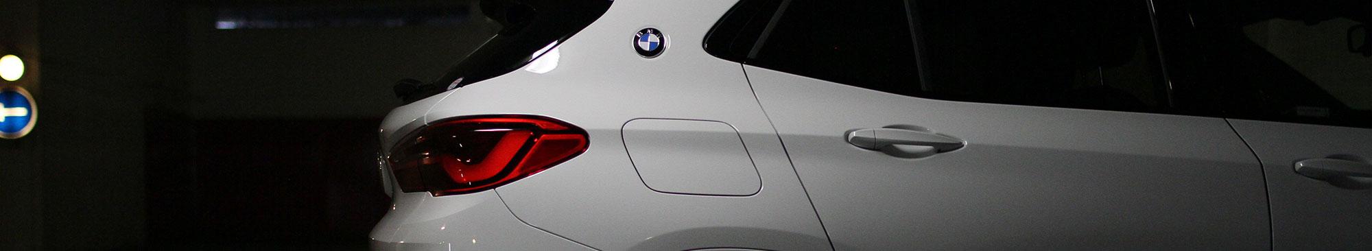 BMW x1 garage bmw-logo