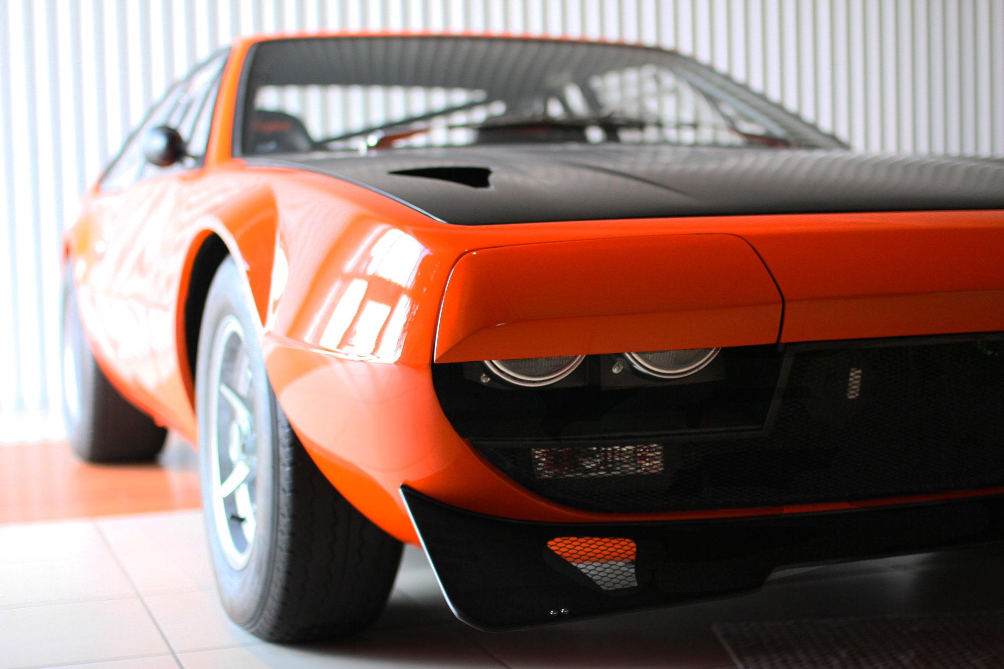 Lamborghini Jamara Orange Bob Wallace Tribute