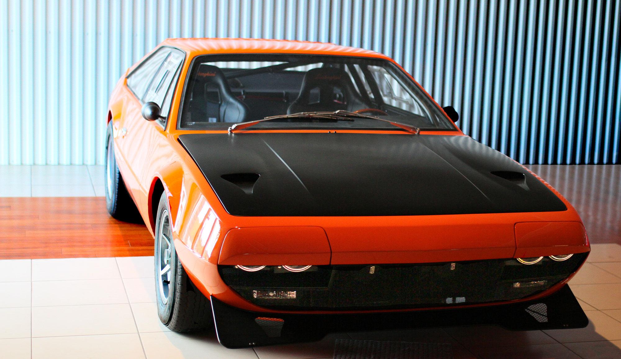 Lamborghini Jamara Bob Wallace Tribute Orange