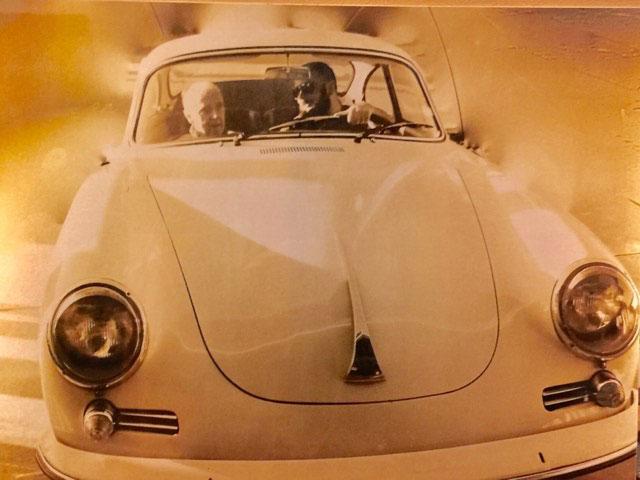 Morfars sista färd i Porsche 356