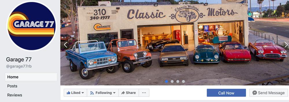 Garage 77´s Facebooksida  https://www.facebook.com/garage77rb/