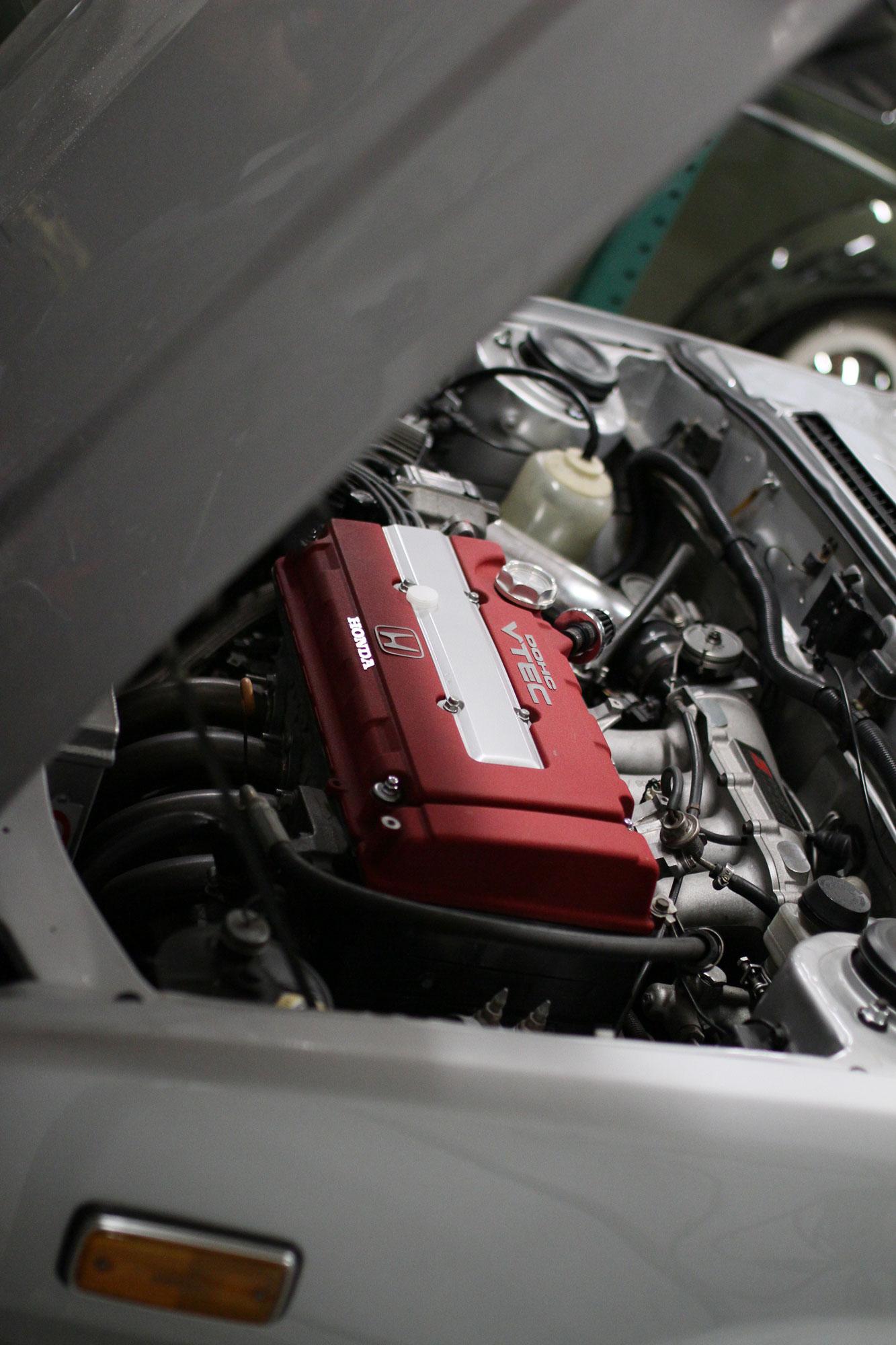 Honda Accord med B18 motor som producerar 180 hästkrafter