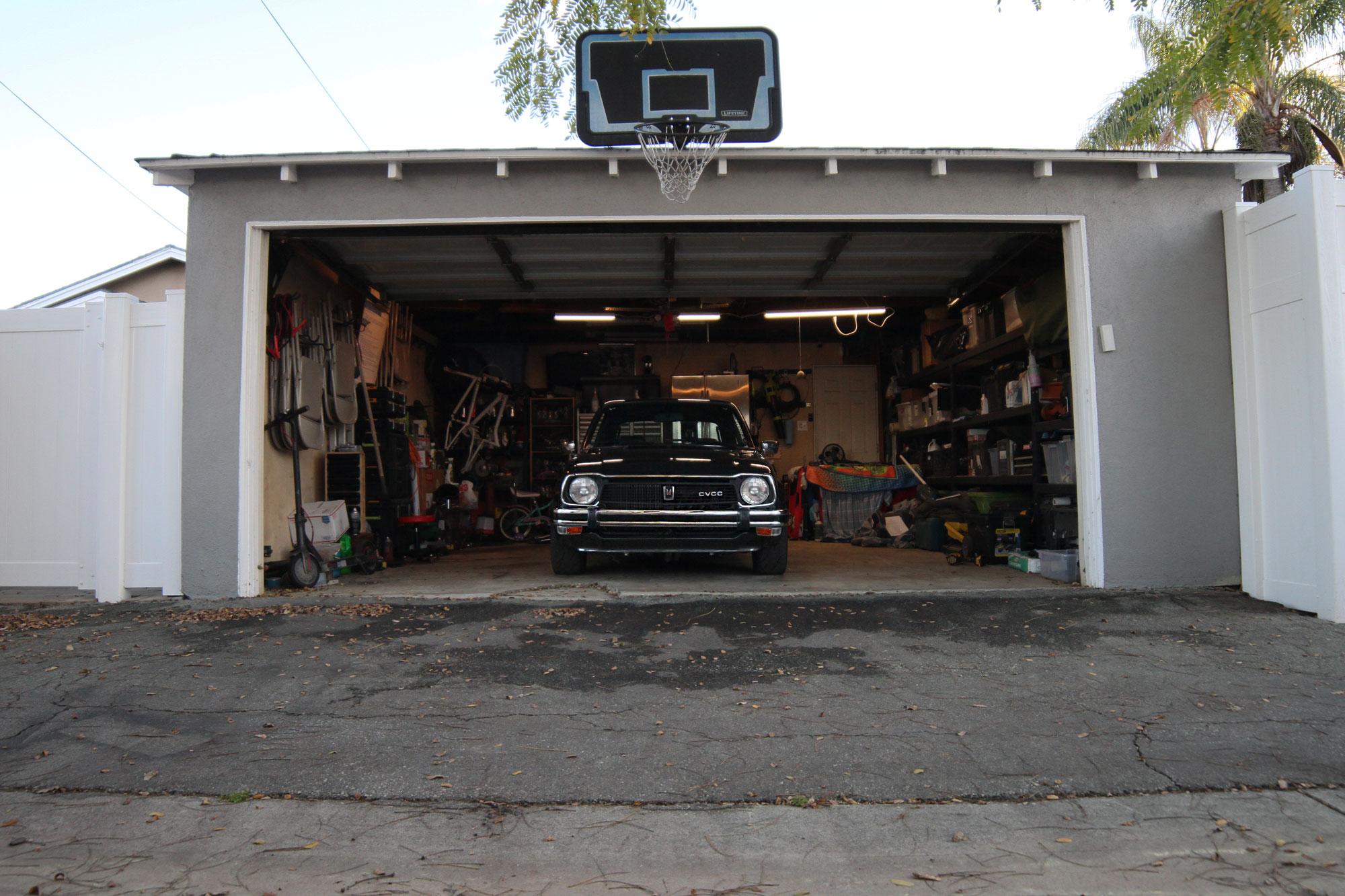 Honda Civic Cvcc 1978 i sitt garage