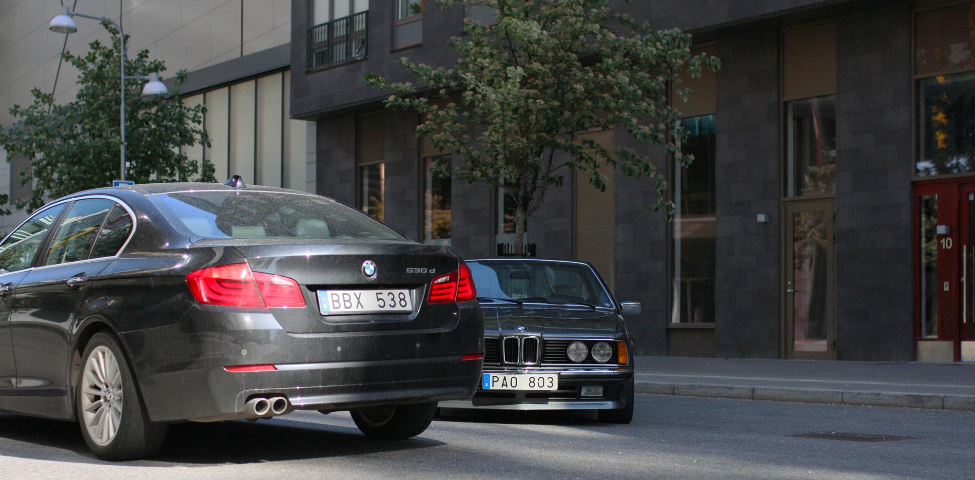 BMW 530 vs BMW 635 - oxen mot city slickern