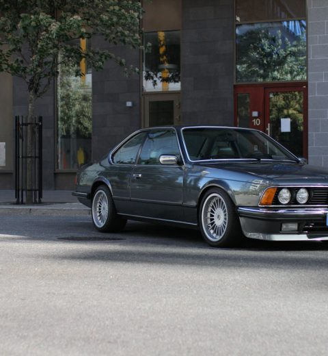 BMW 635 CSi - first page news