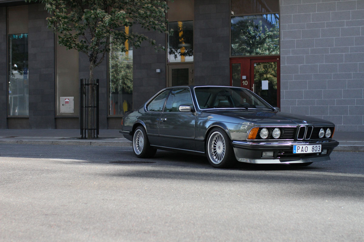 BMW 635 CSi - first page news