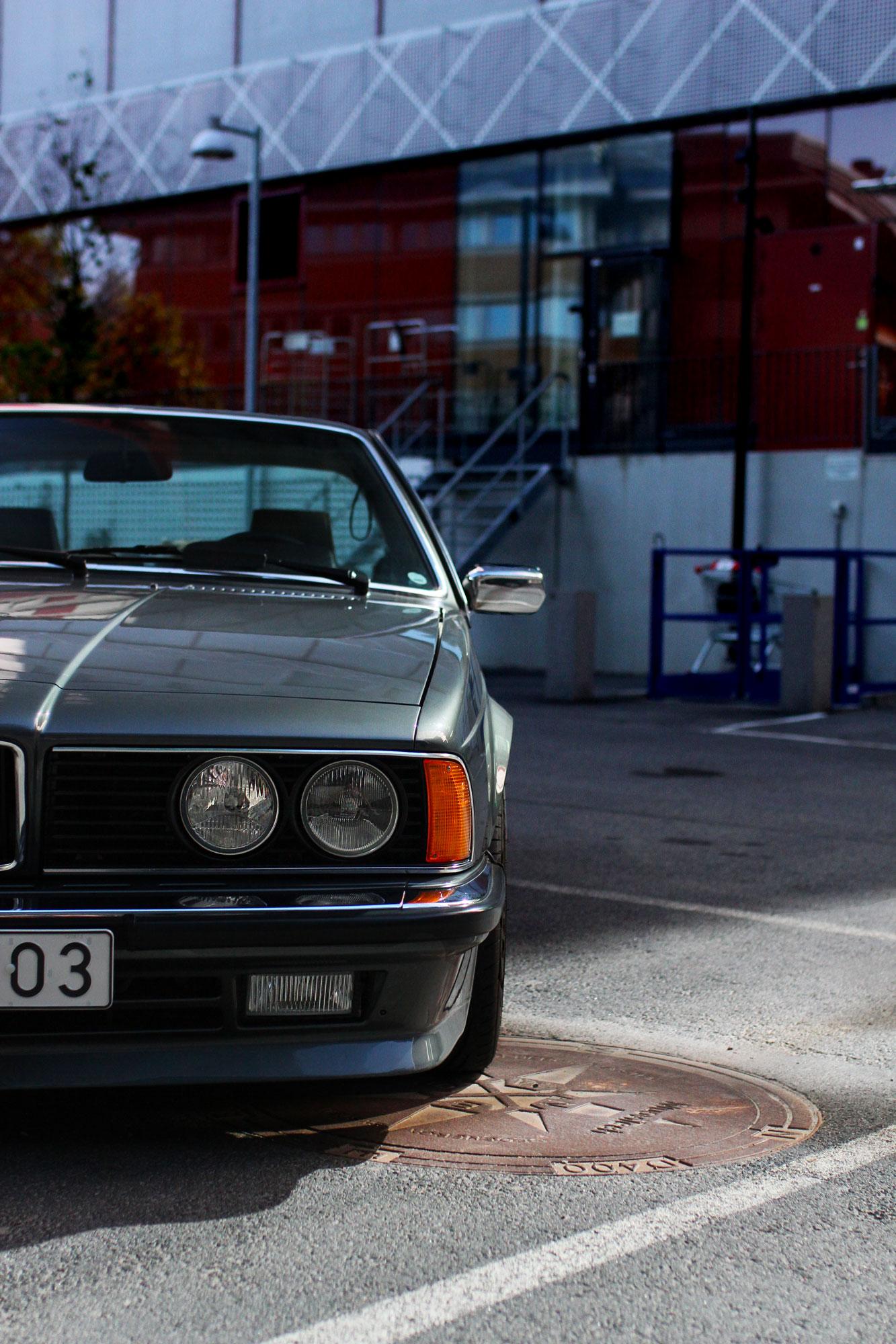 Vänster strålkastare på BMW 635