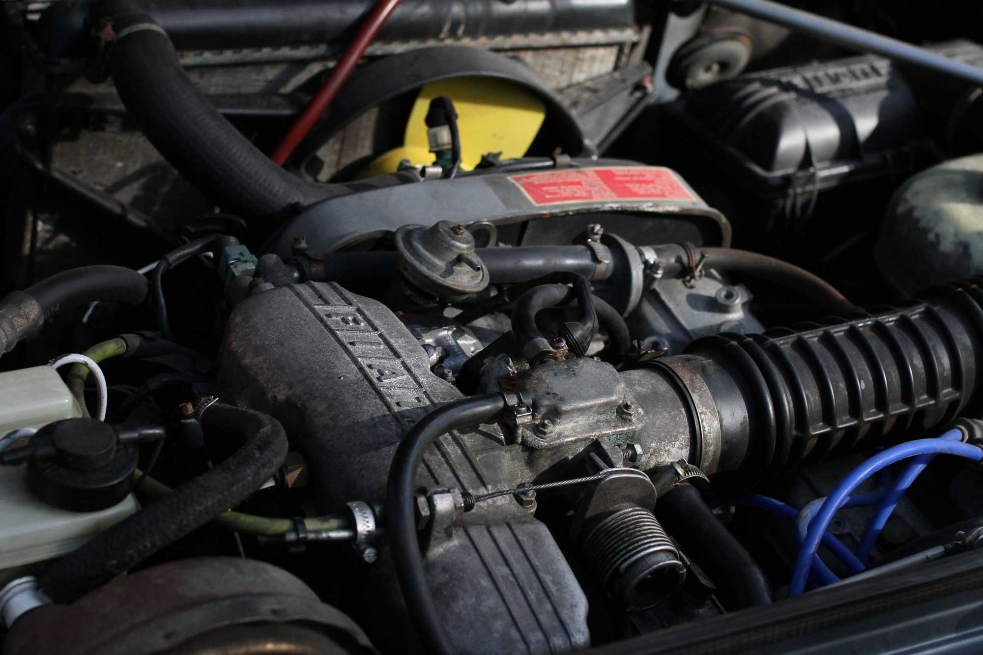 Fiat Argenta Engine with Ritmo top