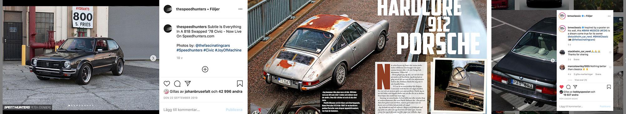 Publicerat Material från Fascianting Cars
