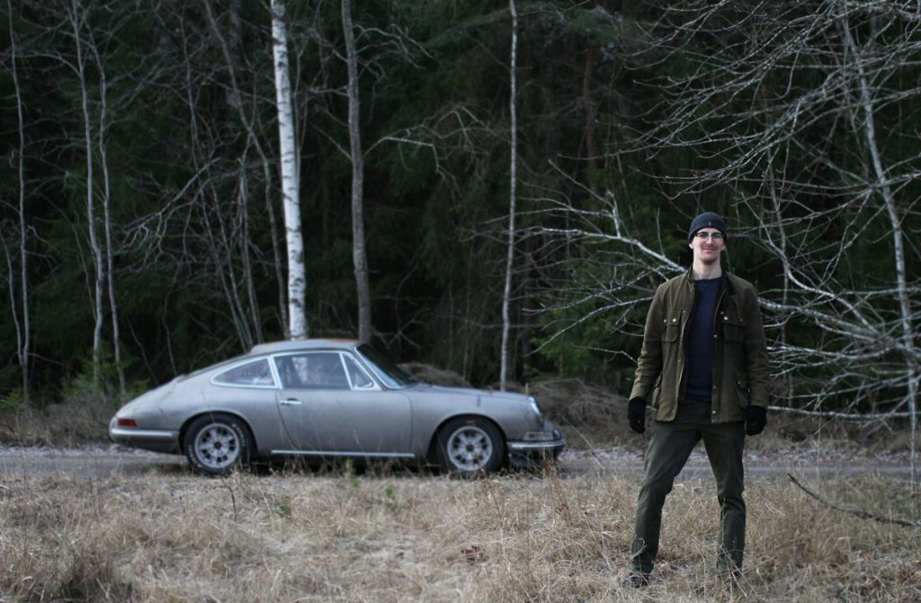A Patina Porsche and his owner Patrik