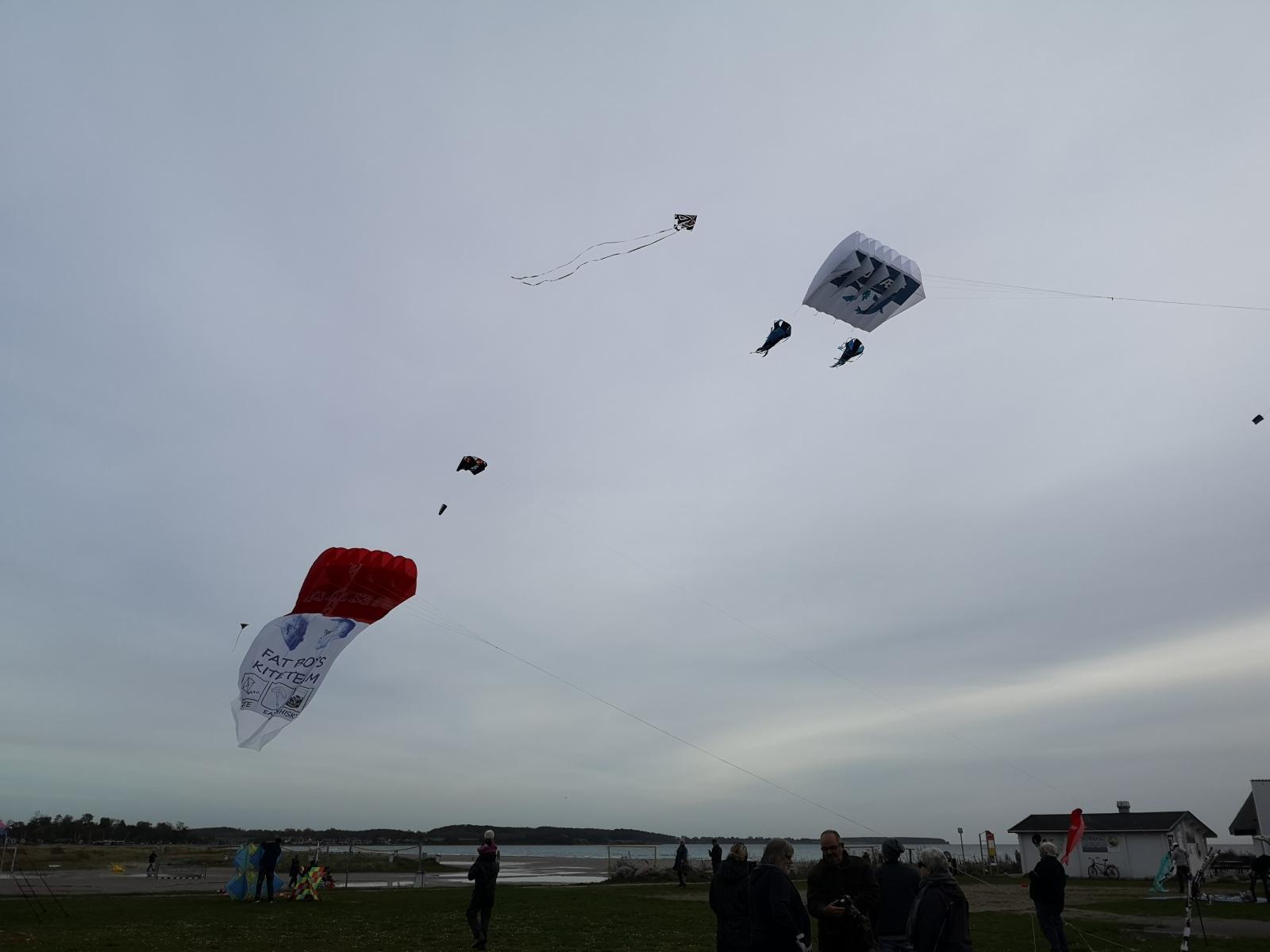 Pilot kites