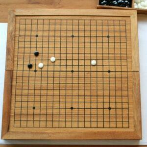 Houten bordspel: GO