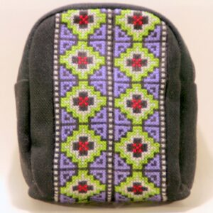 Make up tasje met Hmong patroon