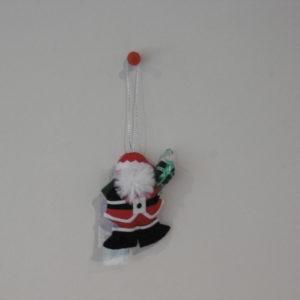 Kleine kerstman met pakje