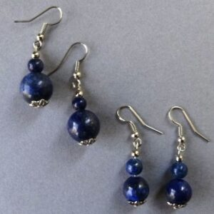 Oorbel Lapis lazuli