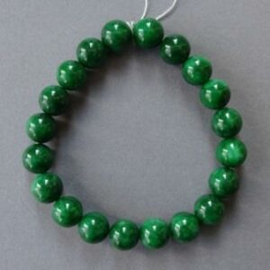 Jade  armband groene parels