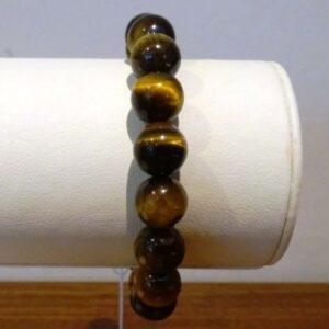 Armband uit parels van Tijgeroog