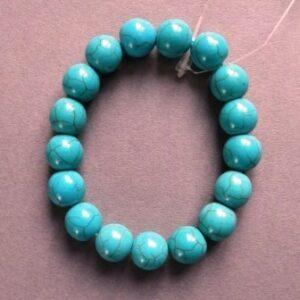 Armband Turquoise kralen