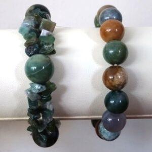 Jade parel armband
