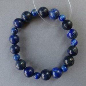 Armband Lapis lazuli parels