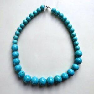 Halssnoer Turquoise kralen