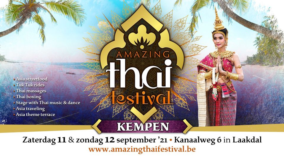 Lees meer over het artikel Amazing Thai Festival – Kempen 2021