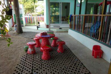 Wildflower Home nu: speelplaats
