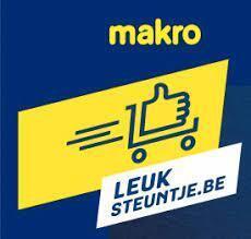 Leuk steuntje van Makro