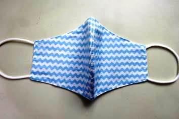 Mondmasker - vleugelvormig