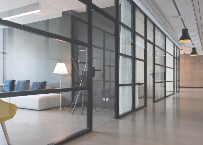 rent kontor og gulv