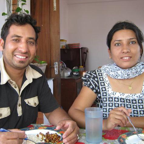 Milan og kone