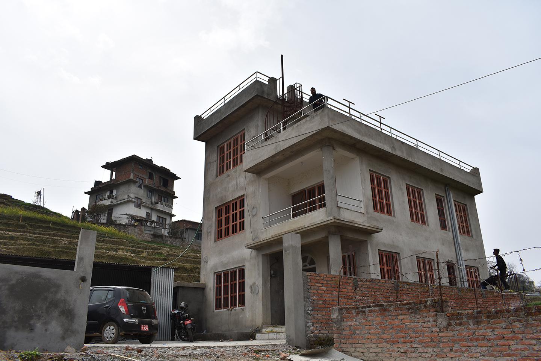 Den nye bygningen til Sharadas Shelter
