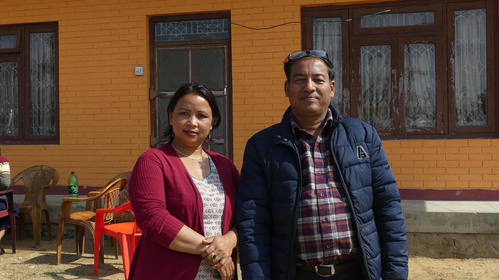 Pastor med kone
