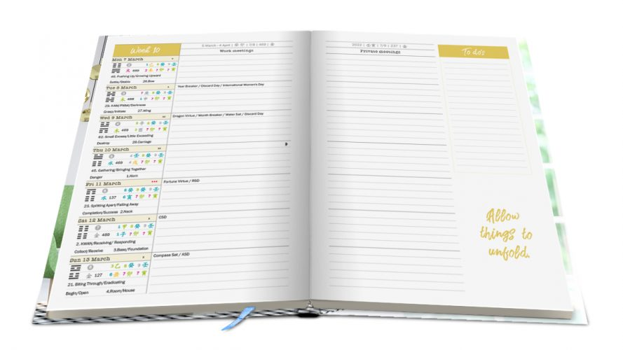 Separate pages for work and private meetings