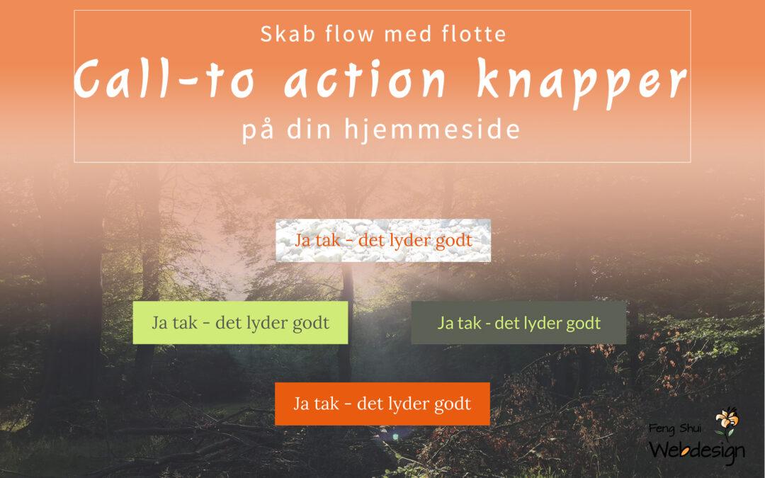 Call-to-action knapper på din hjemmeside