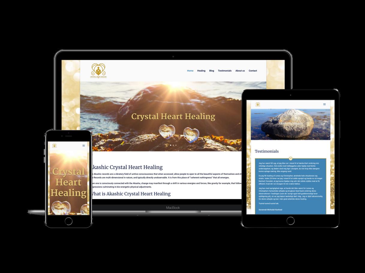Nyt webdesign i Divi og WordPress til Lenea Rubina Hyldgaard