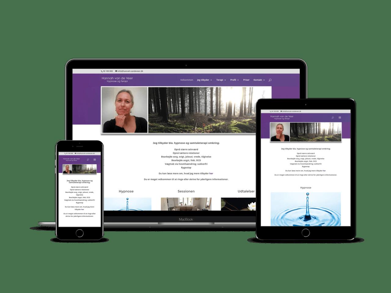 Redesign med personligt Divi Child THeme i WordPress