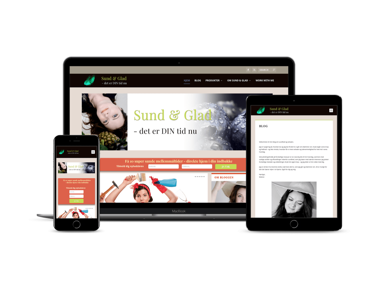 Blog til Sund & Glad NU