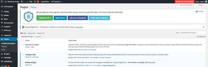 Upload WordPress plugin under plugins