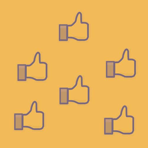 volgers op sociale media