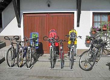 Unterkunft-Fahrräder