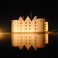 Schloss Glücksburg bei Nacht