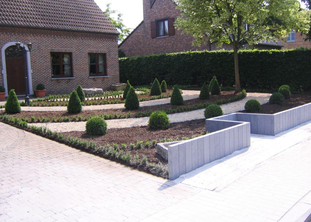 tuinaanleg grondwerken