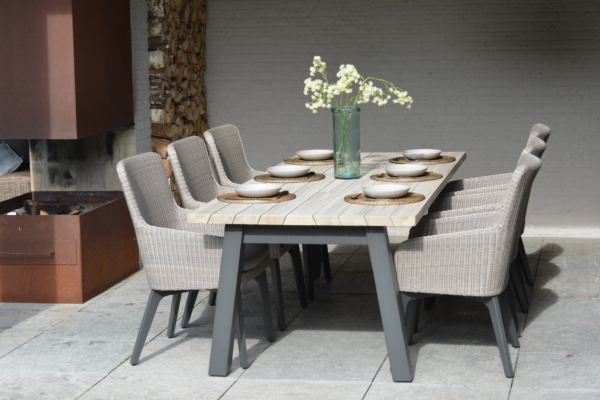4 Seasons Outdoor Luxor Dining Set