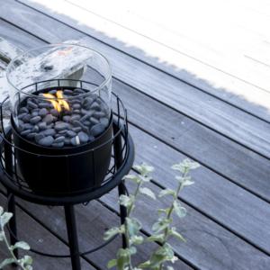 Cosi Fire Cosiscoop staander zwart